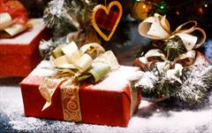 Новогодние подарки для постояльцев Центра
